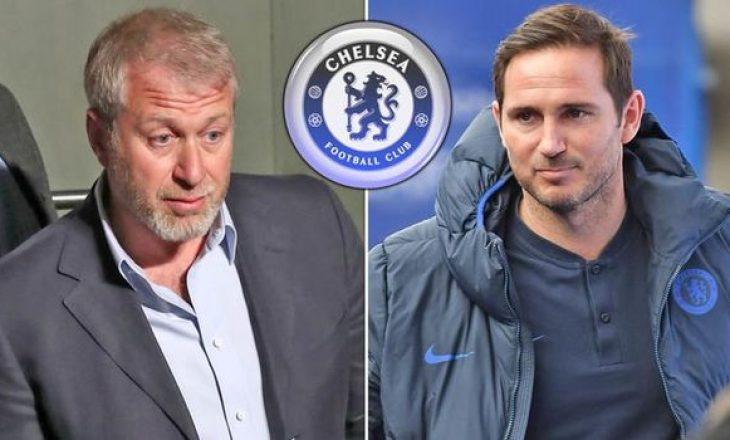 Abraovich pas shkarkimit të Lampardit: Mbetet ikonë