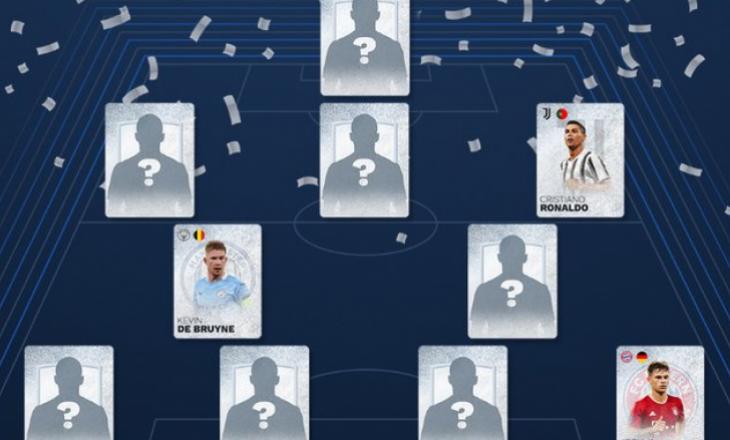 UEFA zgjedh formacionin më të mirë të vitit 2020 të votuar nga tifozët