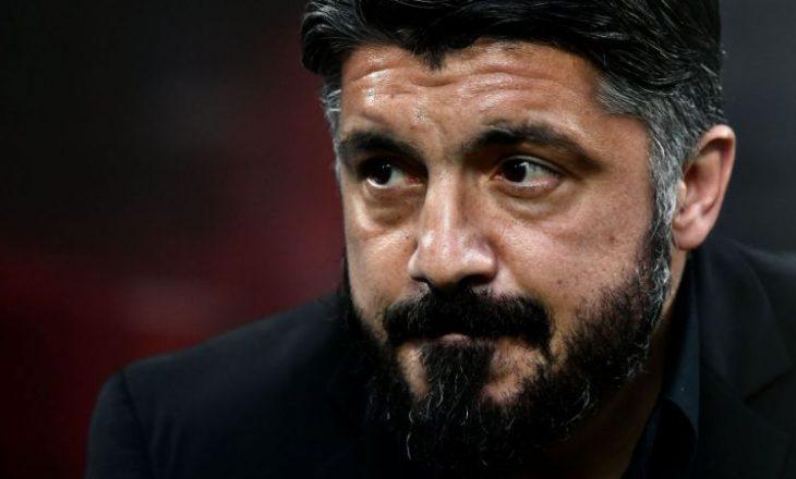Gattuso gati të shkarkohet nga Napoli