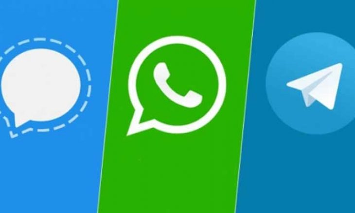 """""""Autogoli"""" i WhatsApp, Singal dhe Telegrami shënojnë rritje të madhe"""