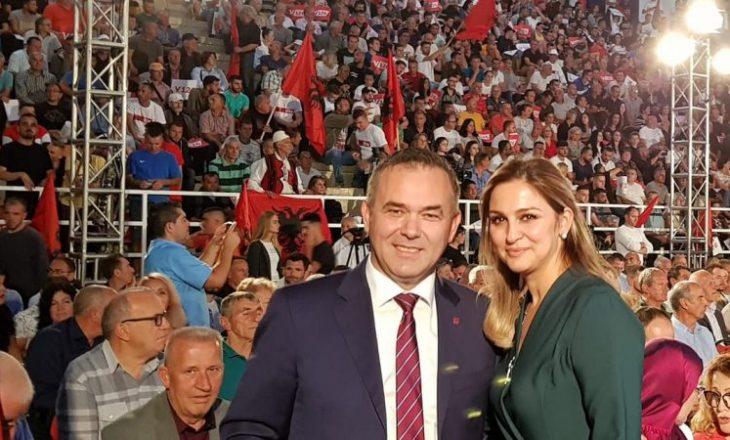 Gruaja e Rehxep Selimit kandidate për deputete