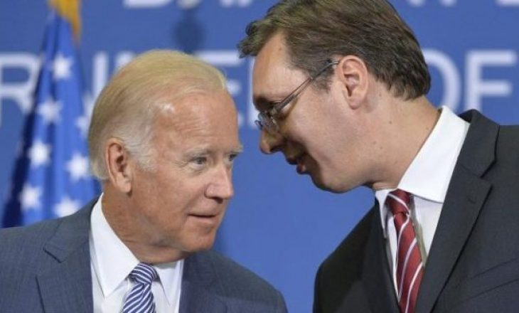 Vuçiq uron Biden, e fton ta vizitojë Beogradin