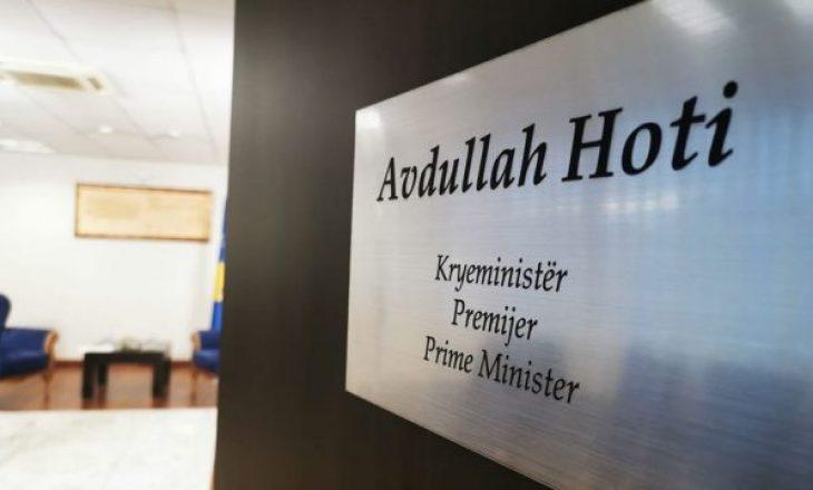 Grevë në Zyrën e Kryeministrit