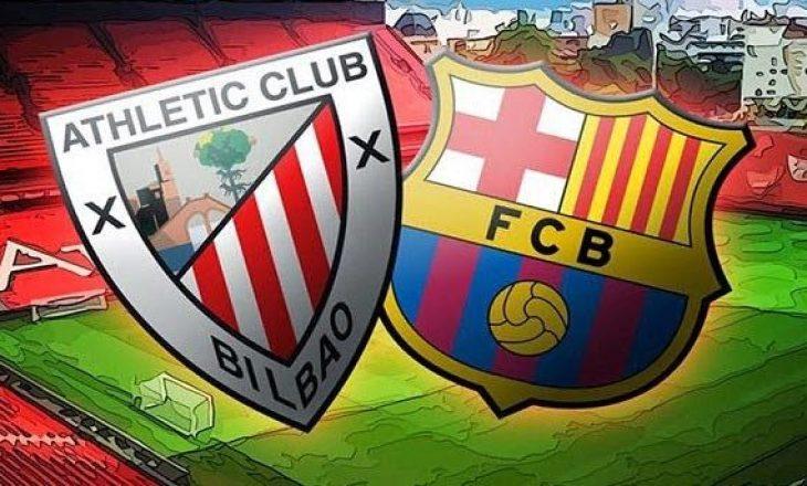 Barcelonës i duhet fitore kundër Bilbao-s që të shpresojë për titull