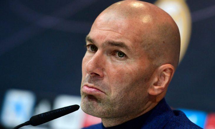 Zidane infektohet me COVID-19