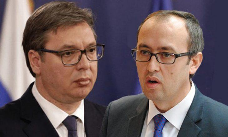 Hoti i kundërpërgjigjet Vuçiqit: Edhe ne e kemi Ushtrinë tonë