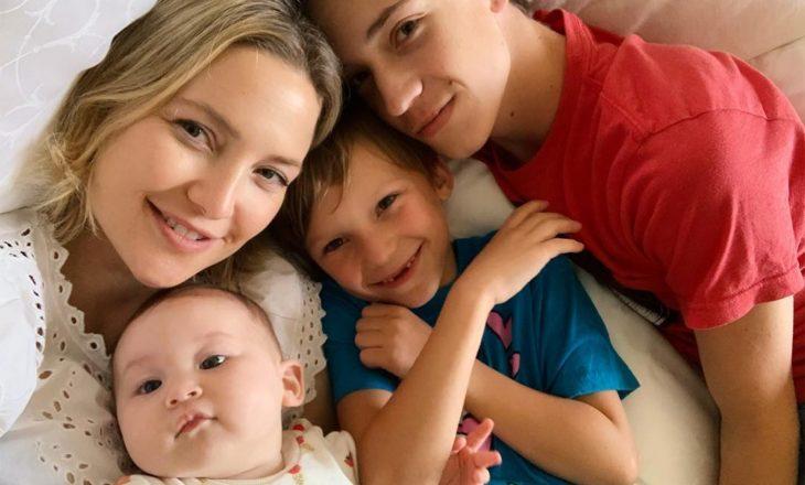 Aktorja na tregon si është të kesh tre fëmijë nga tre baballarë të ndryshëm