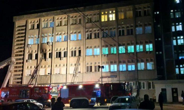 Nga shpërthimi i zjarrit në spitalin e Bukureshtit ku po trajtoheshin pacientët me COVID-19, katër persona humbin jetën