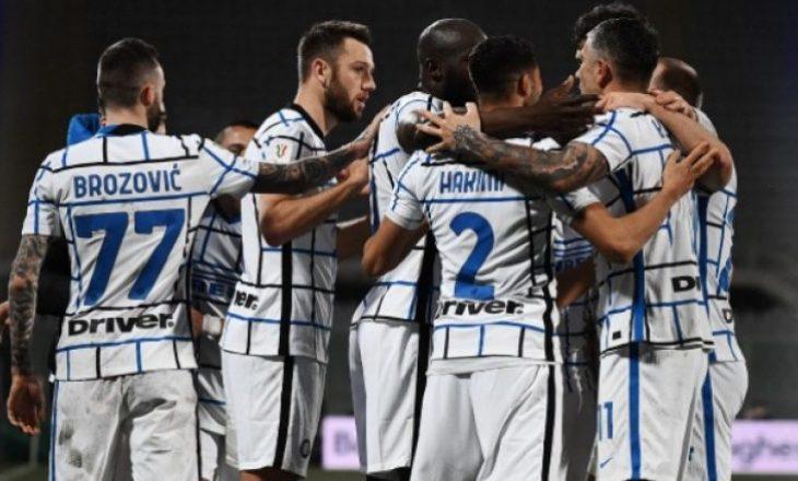 Inter eliminon Fiorentinën nga Kupa pas vazhdimeve