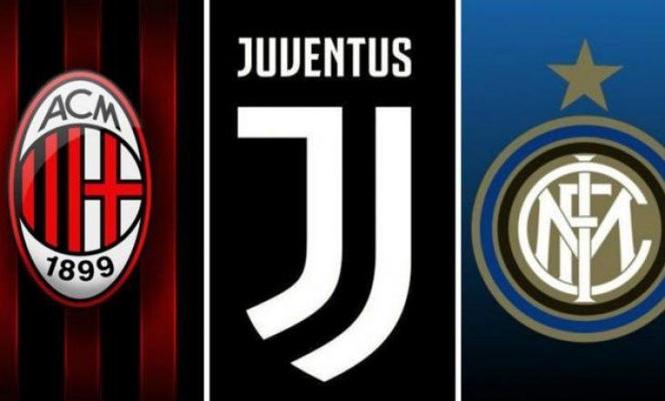 Skudrat e mëdha në Serie A zhvillojnë ndeshjet sot