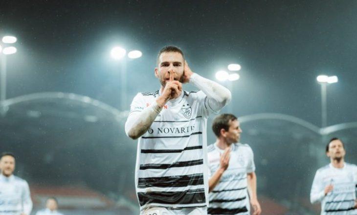 Zhegrova asiston, Kasami shënon për Basel-in