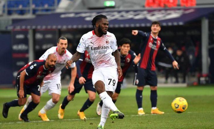 """Milan triumfon fal penalltive, mposht Bologna-n në """"Renato Dall'Ara"""""""