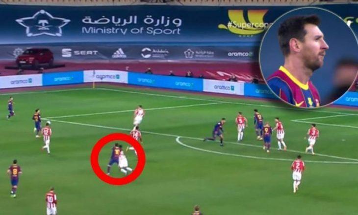 Messi suspendohet për dy ndeshje