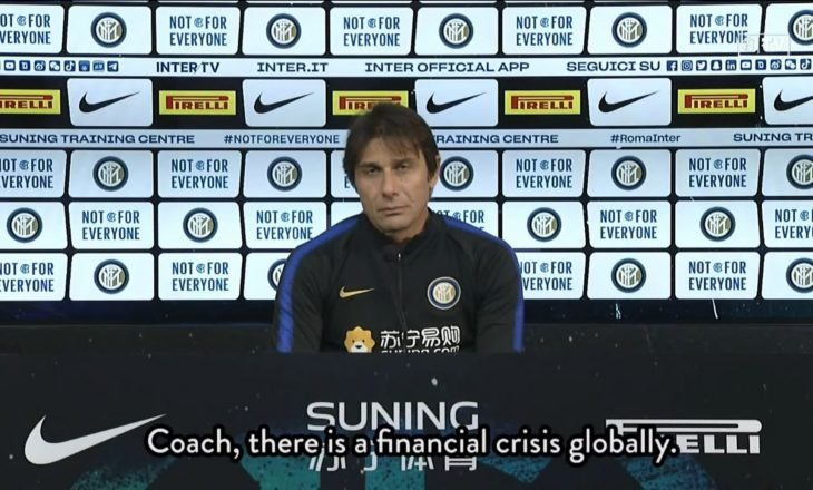 Conte para sfidës ndaj Romës: Roma është ekip pretendent për titull