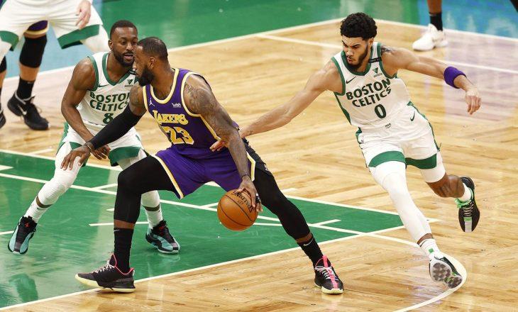 Lakers mposht minimalisht Boston Celtics – rezultatet në NBA
