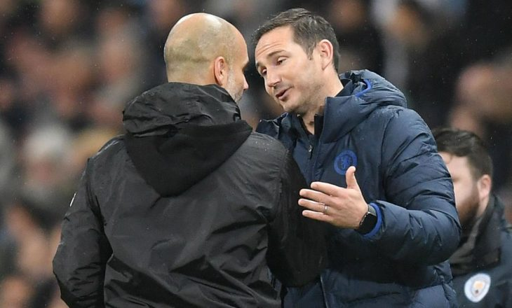 Guardiola flet për shkarkimin e Lampardit