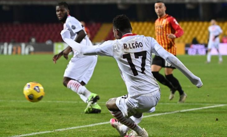 Milan mposht Benevento-n si mysafir
