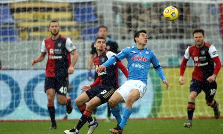 Serie A: Roma, Napoli dhe Atalanta fitojnë, Lazio barazon