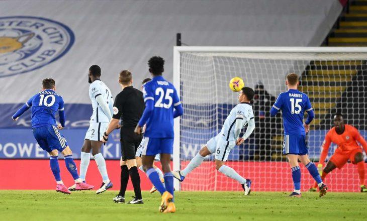 Leicester mposht Chelsea-n dhe merr kryesimin, Lampard rrezikon shkarkimin