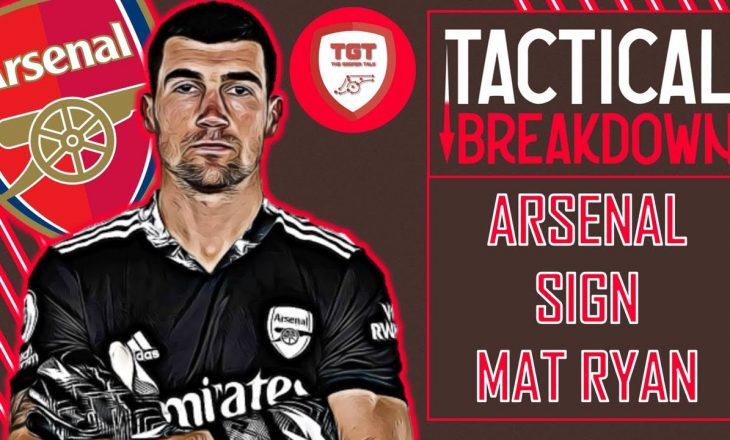 Arsenal huazon nga Brighton portierin australian Rayan