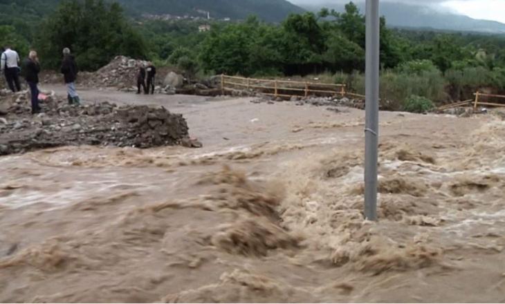 Vushtrria shpall gjendje të emergjencës civile si shkak i vërshimeve