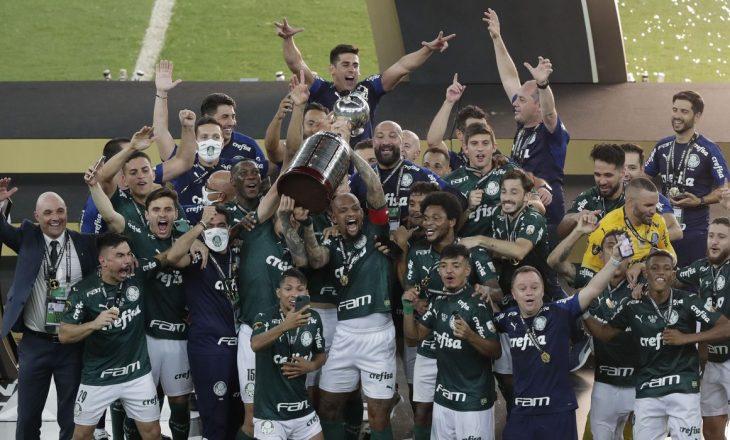 Palmeriras fitues i 'Libertadores', në finale kanë mposhtur rivalët e Santos-it