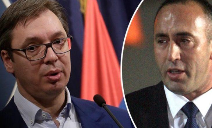Haradinaj drejtuar Vuçiqit: Nëse se do bashkimin me Shqipërinë duhet ta njohësh Kosovën
