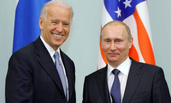 Bisedë telefonike mes Biden dhe Putinit
