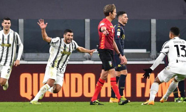 Juventus mposht Genoa-n pas vazhdimeve në Kupën e Italisë