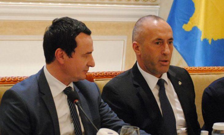 A do të bashkëpunojë me Kurtin për referendumin e bashkimit me Shqipërinë, flet Haradinaj