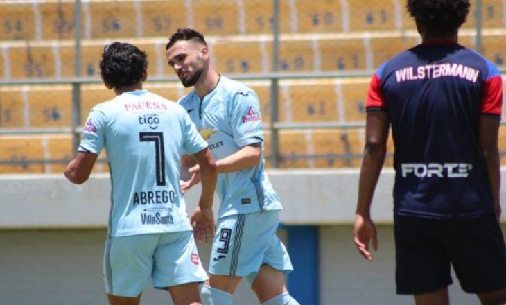Armando Sadiku debuton me dy gola për Bolivar-in në Bolivi