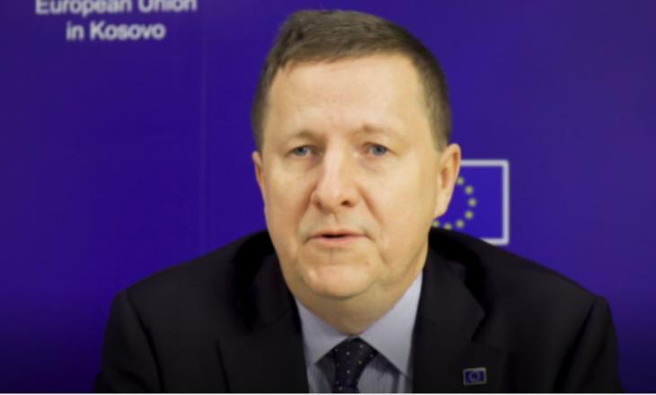 Szunyog: BE do të vazhdojë mbështetjen për të siguruar sistemin e drejtësisë të pavarur në Kosovë