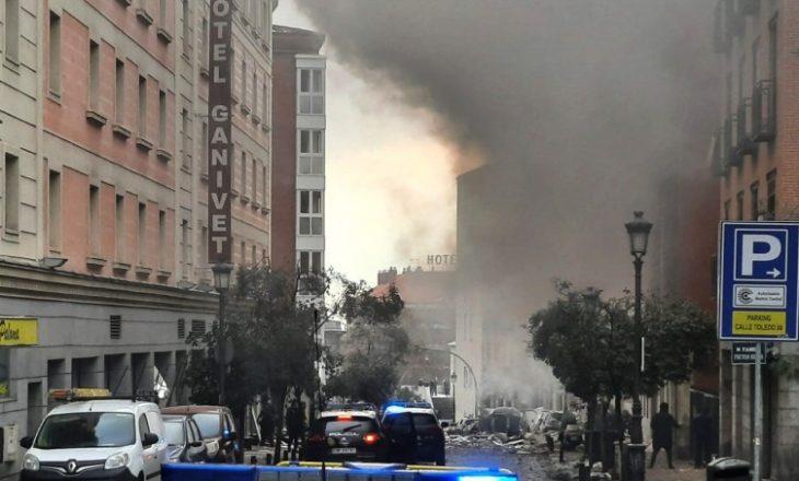 Raportohen dëme materiale dhe njerëz të lënduar nga shpërthimi i fuqishëm në Madrid