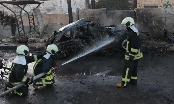 Nga një sulm terrorist në Afrin të Sirisë, mbeten të vrarë gjashtë civilë