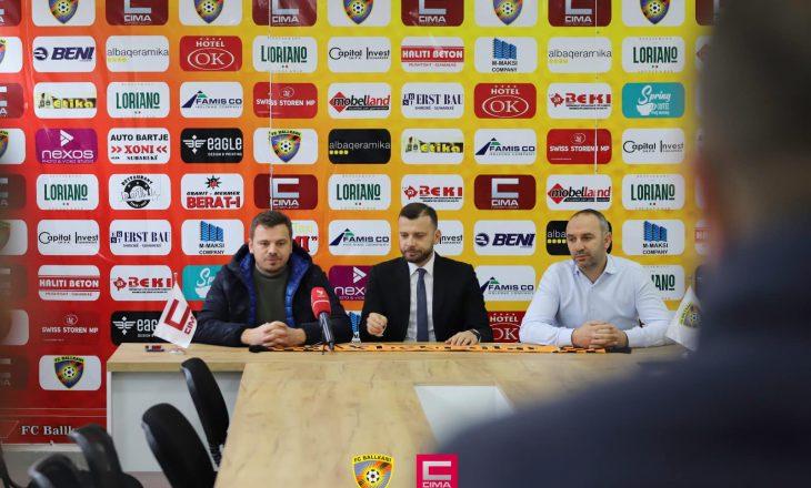 Ballkani prezanton trajnerin e ri
