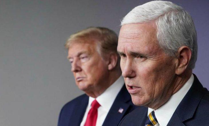 Pas një heshtjeje të gjatë, Trump takohet me Pence