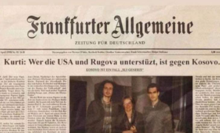 """Demantohet pretendimi se Kurti ka thënë """"Kush është me Amerikën e Rugovën është kundër Kosovës"""""""