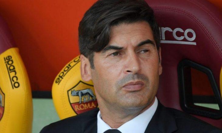 Trajneri Romës pranon gabimin në zëvendësime
