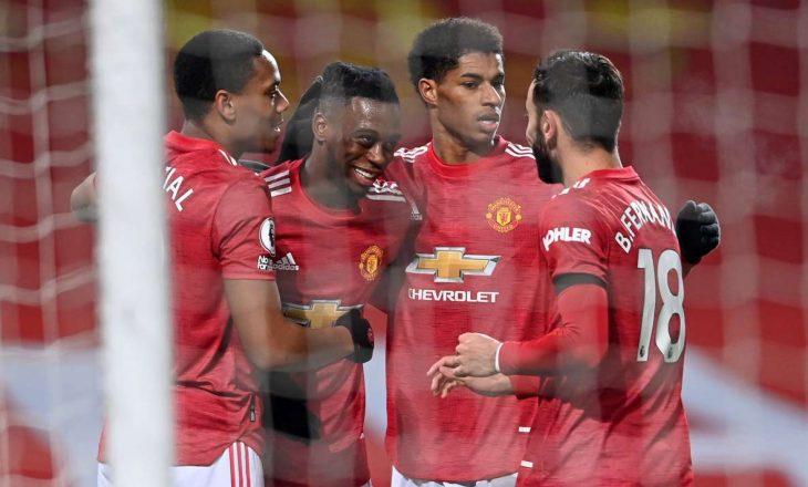 Manchester United fillon me fitore vitin e ri, mposht Aston Villa-n