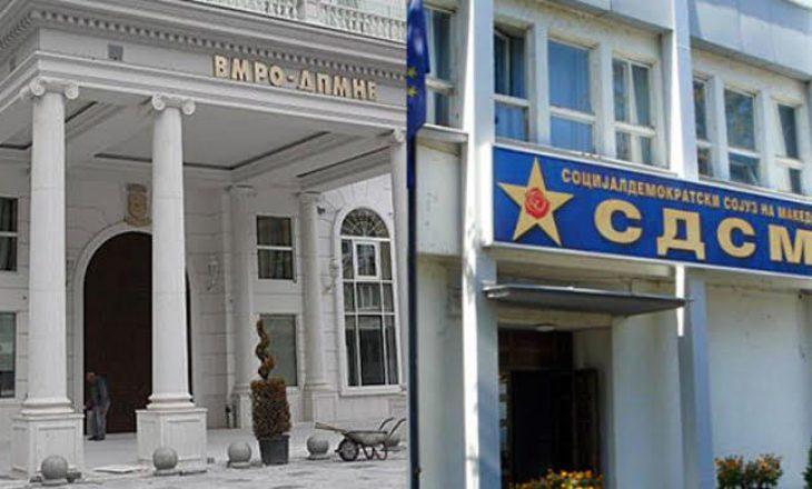 Maqedoni e Veriut, përplasje fizike mes eksponentëve partiakë