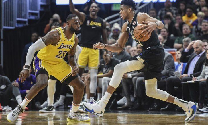 Lakers me James në krye, fitojnë ndaj Milwaukee Bucks – rezulatet në NBA