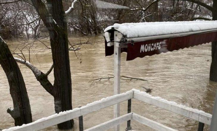 Disa zona të Dukagjinit rrezikohen sërish nga vërshimet