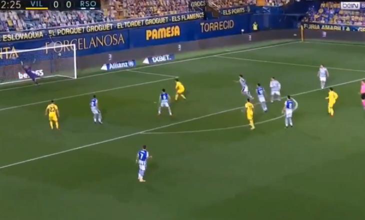 Dani Parejo i Villarreal shënon golin më të bukur të javës në La Liga kundër Sociedad