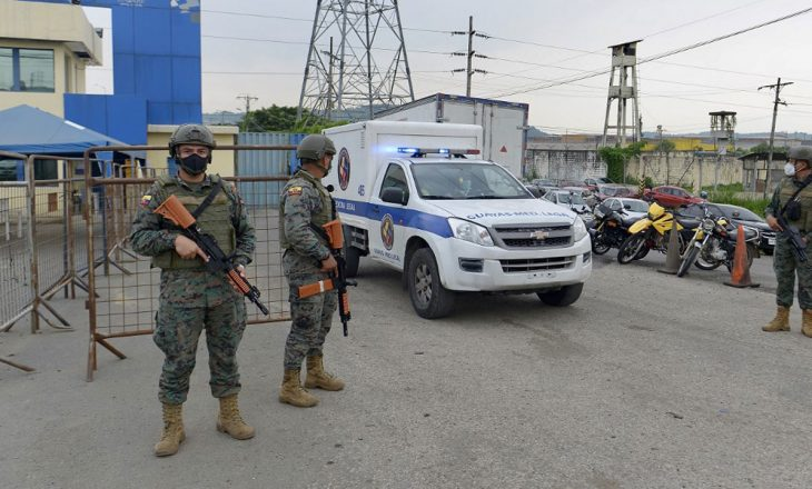 Më shumë se 50 të vdekur dhe dhjetëra të plagosur në trazirat e burgjeve në Ekuador