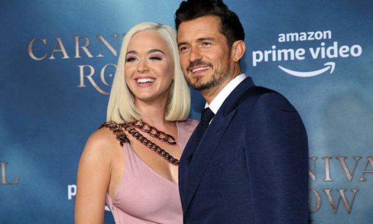 Katy Perry thotë se burri i saj e filmoi derisa ishte duke lindur