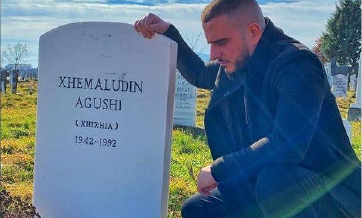 """Tre vjet më vonë Gold AG i lejohet hyrja në Preshevë – viziton varrin e të atit: """"Babë erdha me t'kallxu që je bo gjysh"""""""