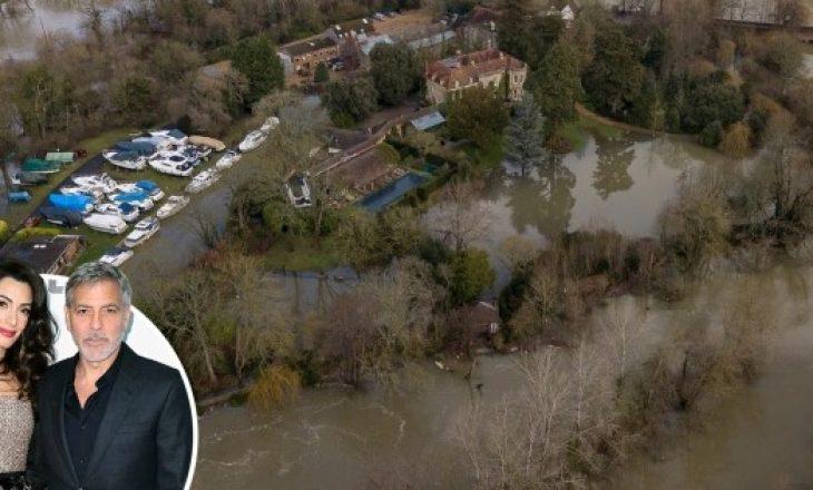 Rezidenca milionëshe e George Clooney përmbytet nga uji dhe balta