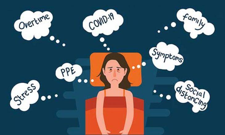 COVID-19 dhe gjumi: Çfarë është covidinsomnia?