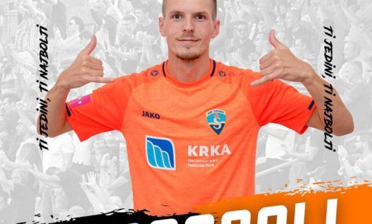 Emir Sahiti shënon gol për Sibenik-un në barazimin me Rijekën