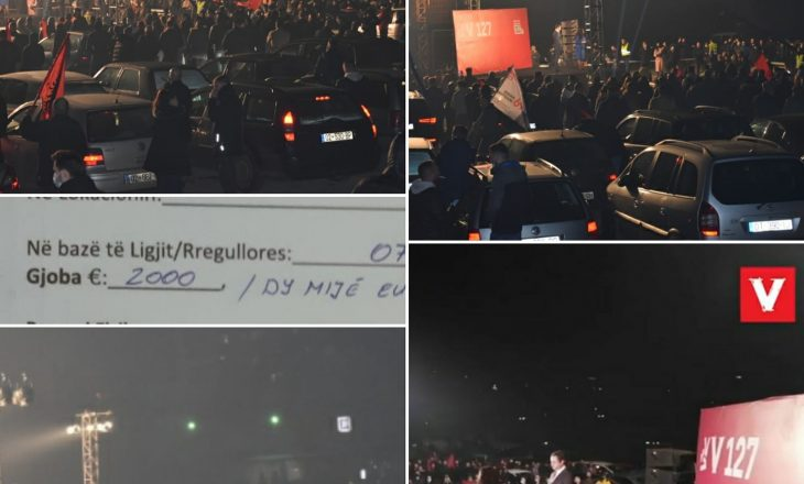Komuna e Prishtinës gjobit sërish Vetëvendosjen me dy mijë euro